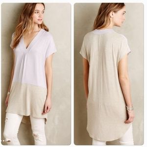 Anthropologie Dolan Colordrop Tunic Top S